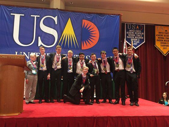 Hendricken's Academic Decathlon Team Takes 1st Place in Nationals!