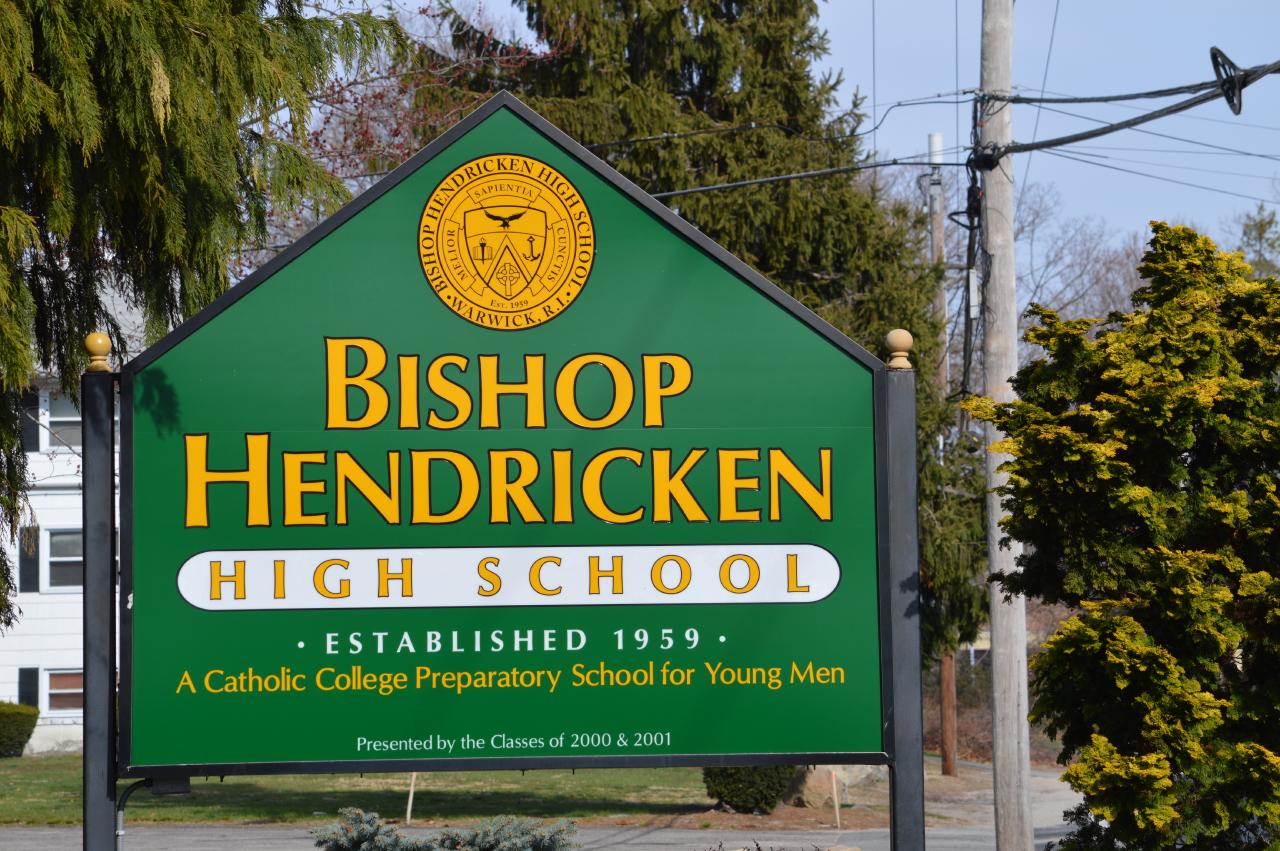 Bishop Hendricken names 2020 Healey Scholars