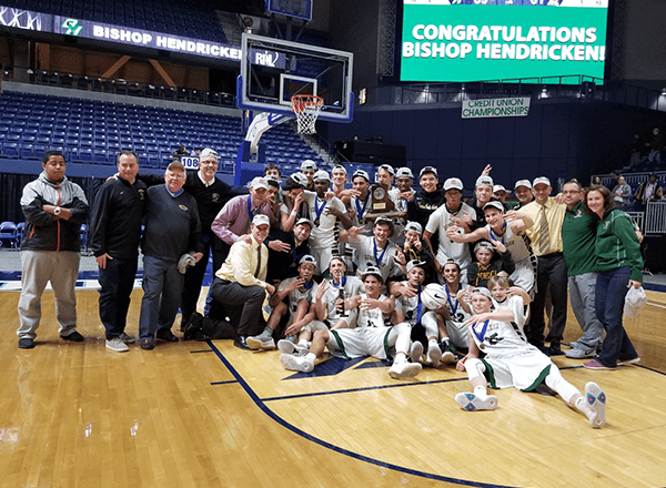 Hendricken captures 3rd straight RI state basketball title